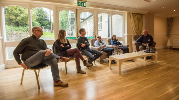 environmental conference in Grange with scientists, modellers, statiticians